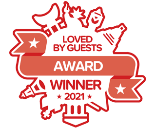 "Loved by Guests ""Most Wanted"" award for 2021"